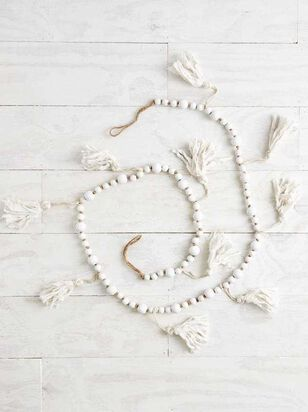 Beaded Tassel Garland - A'Beautiful Soul