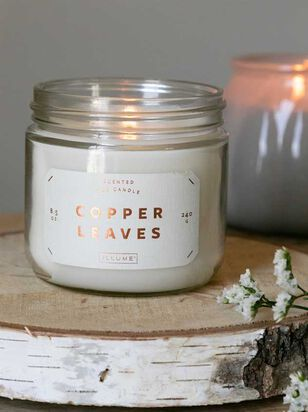 Copper Leaves Candle - A'Beautiful Soul