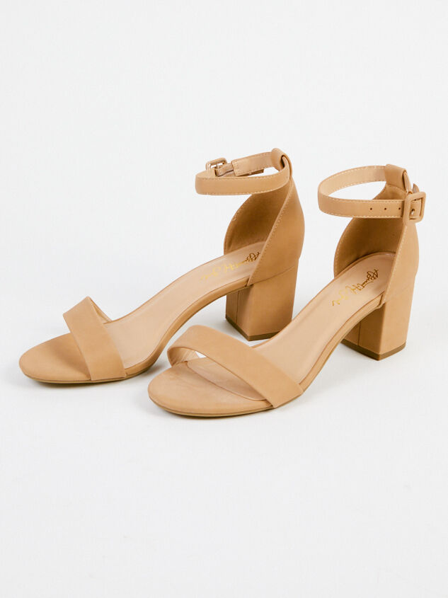 Hallie Wide Width Heels - Natural Detail 2 - A'Beautiful Soul
