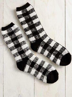 Buffalo Antique Plaid Socks - A'Beautiful Soul