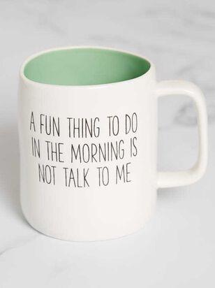 Not Talk to Me Mug - A'Beautiful Soul