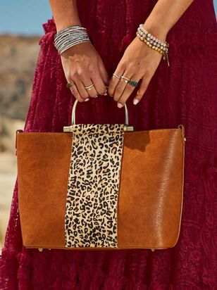 Lula Leopard Handbag - A'Beautiful Soul