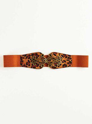 Scroll Belt - Leopard - A'Beautiful Soul
