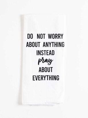 Do Not Worry Hand Towel - A'Beautiful Soul