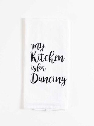 Kitchen Dancing Hand Towel - A'Beautiful Soul