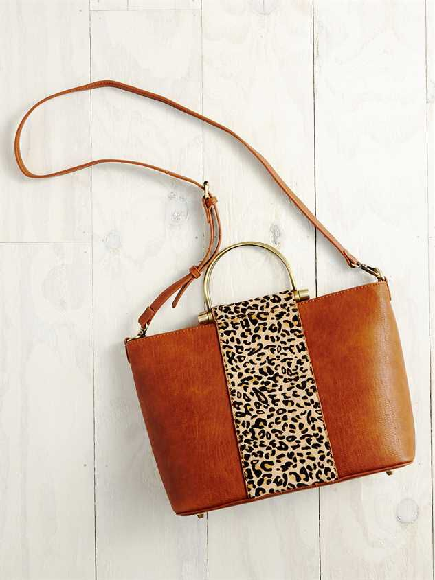 Lula Leopard Handbag Detail 3 - A'Beautiful Soul