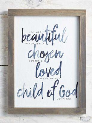 Child of God Wall Art - A'Beautiful Soul
