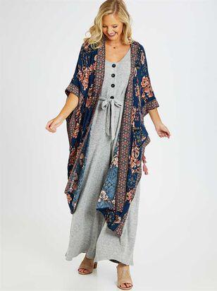 Natural Wonders Kimono - A'Beautiful Soul