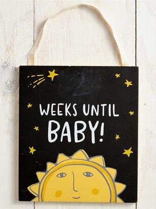 Tullabee Countdown until Baby Chalkboard Sign - A'Beautiful Soul