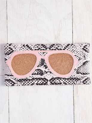 Snake Print Sunglasses Case - A'Beautiful Soul