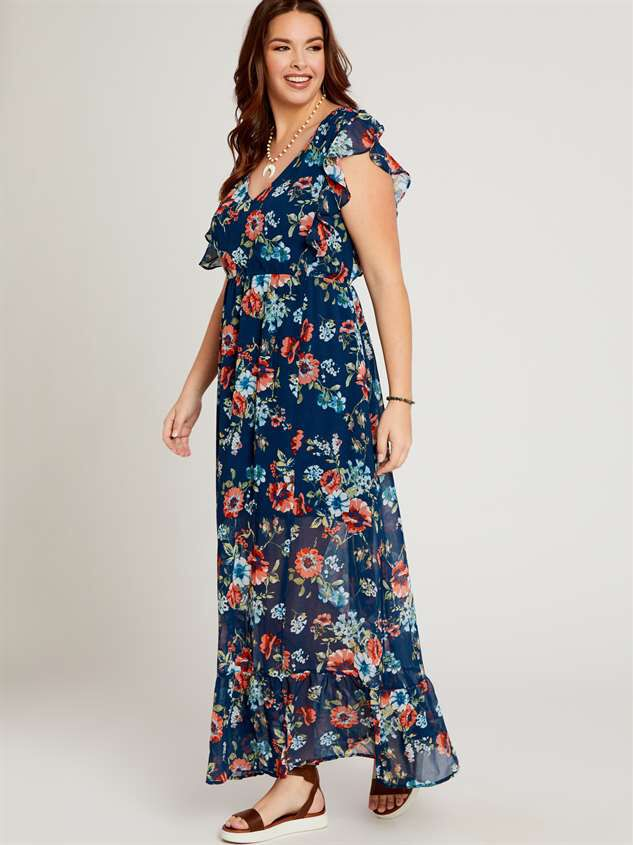 Liv Maxi Dress Detail 2 - A'Beautiful Soul
