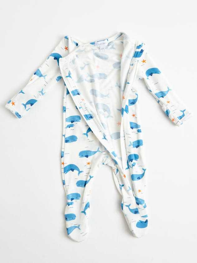 Tullabee Whale Onesie Detail 2 - A'Beautiful Soul
