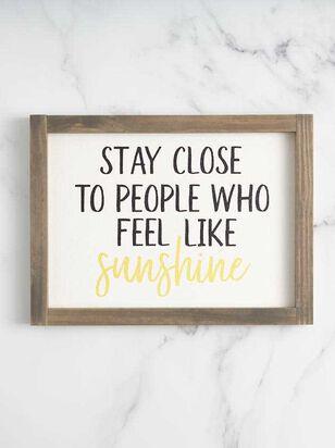 Feel Like Sunshine Wall Art - A'Beautiful Soul