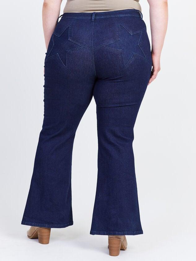 Incrediflex Star Flare Jeans Detail 5 - A'Beautiful Soul