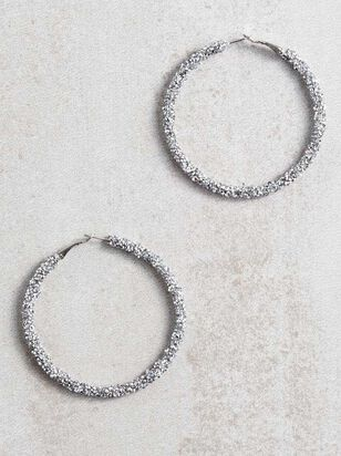 Dianna Hoop Earrings - A'Beautiful Soul