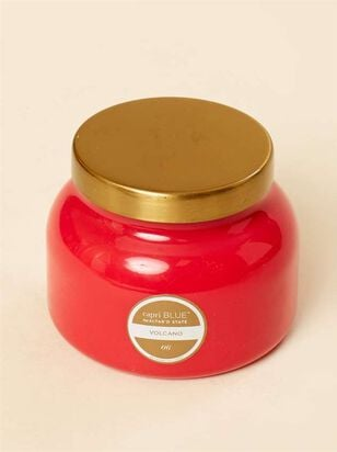 Coral Jar Candle - Volcano Scent - A'Beautiful Soul