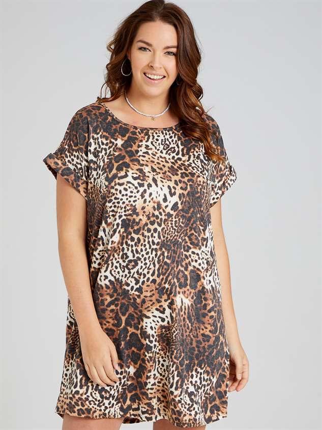 Lux Leopard Dress - A'Beautiful Soul