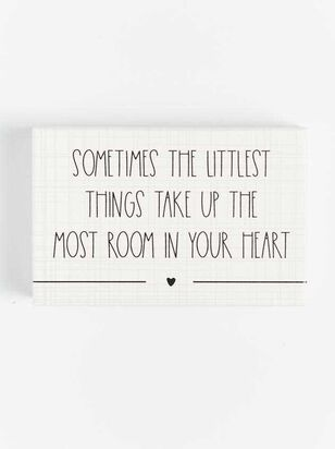 Little Things Block Sign - A'Beautiful Soul