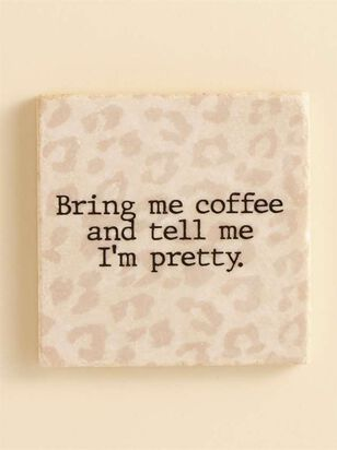 Bring Me Coffee Coaster - A'Beautiful Soul