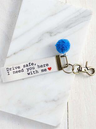 Drive Safe Keychain - A'Beautiful Soul