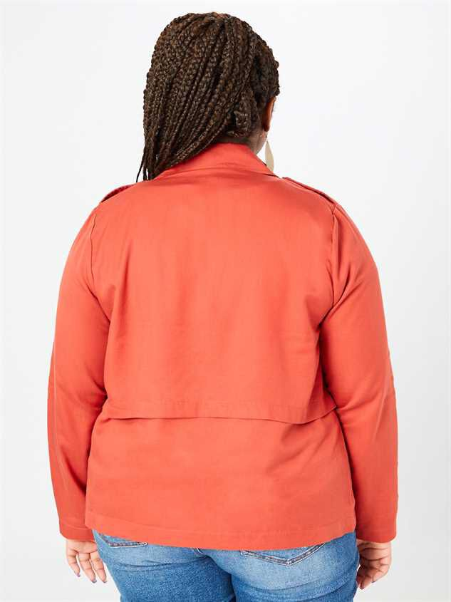 Gia Lightweight Jacket Detail 3 - A'Beautiful Soul