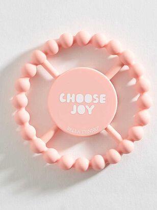 Tullabee Choose Joy Teething Ring - A'Beautiful Soul