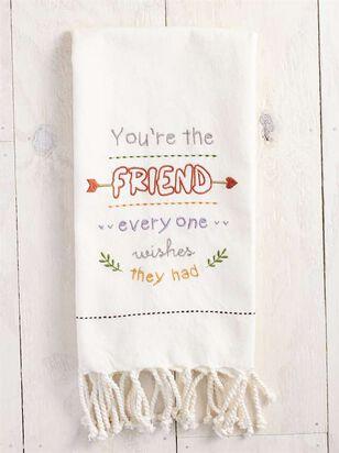 You're the Friend Hand Towel - A'Beautiful Soul