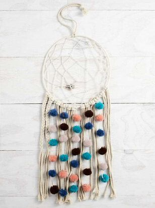 Multi Pom Dream Catcher - A'Beautiful Soul