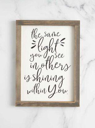 Same Light Wall Art - A'Beautiful Soul