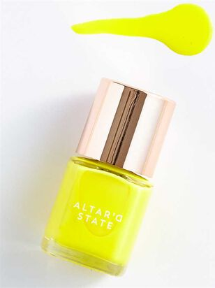 Neon Yellow Nail Polish - A'Beautiful Soul