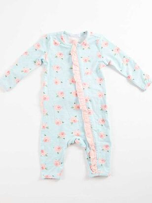 Tullabee Ruffle Rose Onesie - A'Beautiful Soul