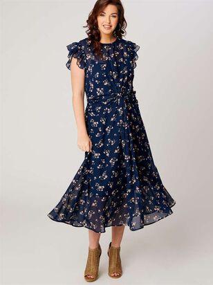 Augusta Midi Dress - A'Beautiful Soul