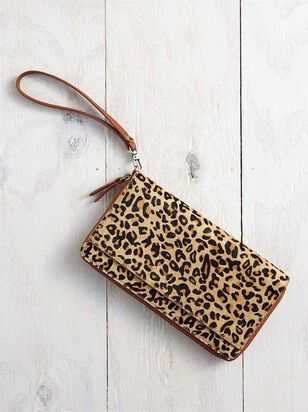 Leopard Wristlet - A'Beautiful Soul