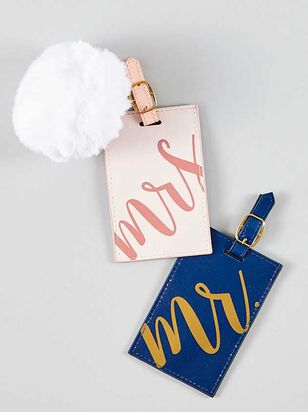 His & Her Luggage Tags - A'Beautiful Soul