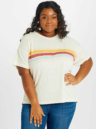 Retro Stripe Top - A'Beautiful Soul