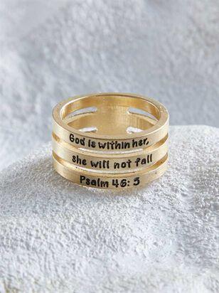 Psalm 46:5 Ring - A'Beautiful Soul