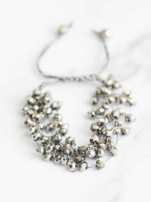 Lanier Bracelet - Hematite - A'Beautiful Soul