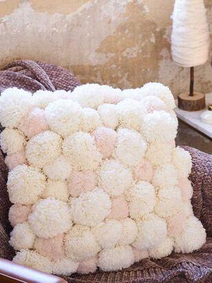 Blush Pom Pom Pillow - A'Beautiful Soul