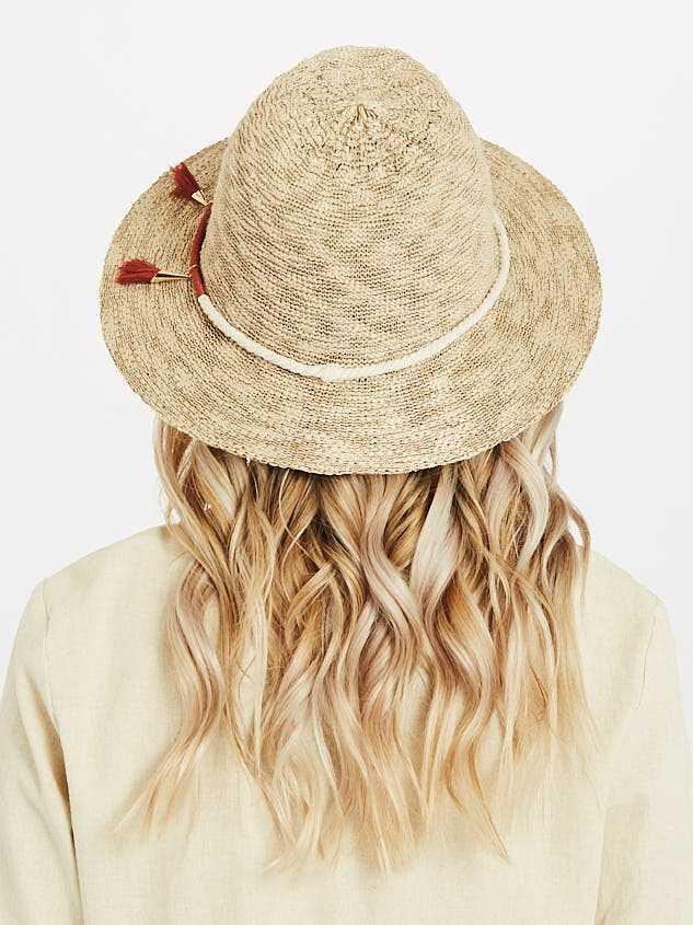 Spice of Life Panama Hat Detail 3 - A'Beautiful Soul