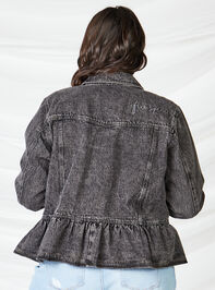Free Spirit Denim Jacket Detail 4 - A'Beautiful Soul