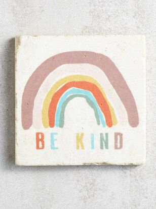 Be Kind Rainbow Coaster - A'Beautiful Soul