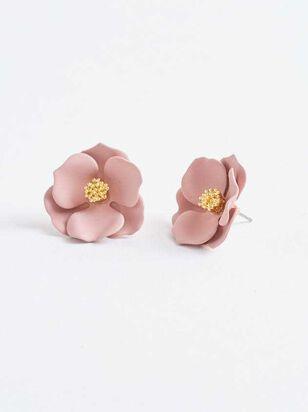 Flower Power Earrings - A'Beautiful Soul