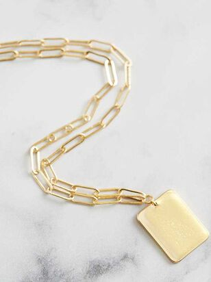 Box Chain Necklace - A'Beautiful Soul