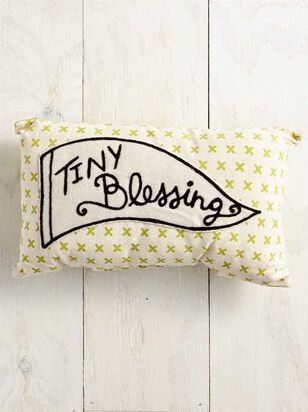 Tullabee Tiny Blessing Pillow - A'Beautiful Soul