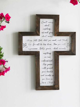 Don't Worry Script Cross - A'Beautiful Soul