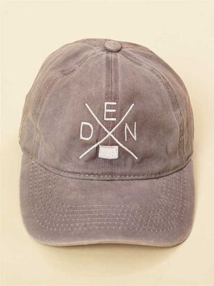 Across Denver Distressed Baseball Hat - A'Beautiful Soul