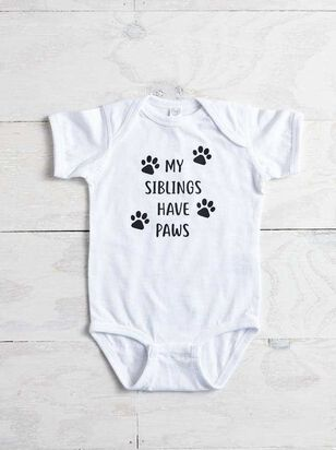 Siblings Have Paws Onesie - A'Beautiful Soul