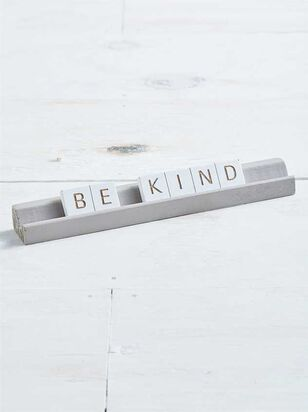 Be Kind Tabletop Message - A'Beautiful Soul