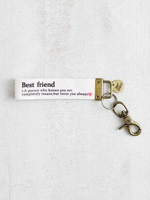 Best Friend Keychain - A'Beautiful Soul