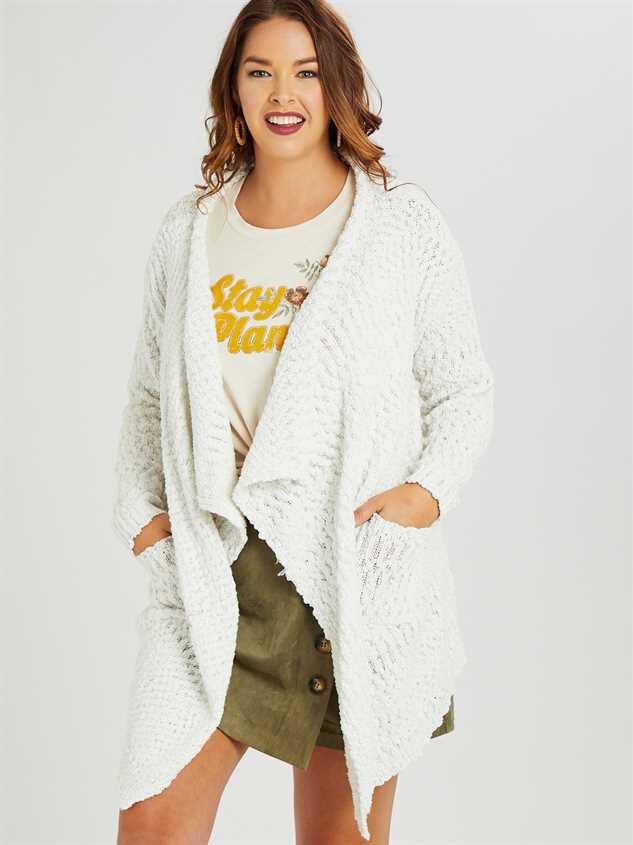 Bubbly Cardigan Sweater - A'Beautiful Soul
